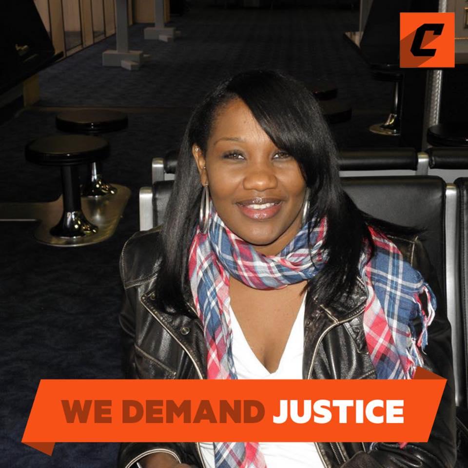 Sondra Young the NAACP Denver branch President