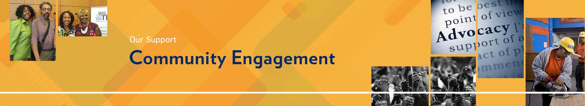 Community Engagement banner