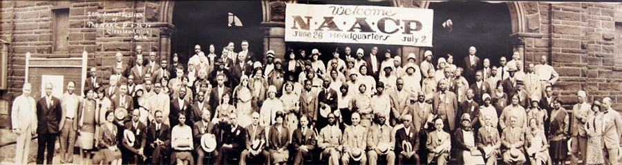 NAACP history banner image