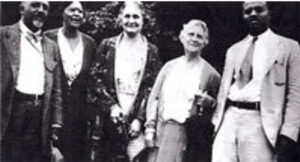 Picture of part of the founding group of the NAACP