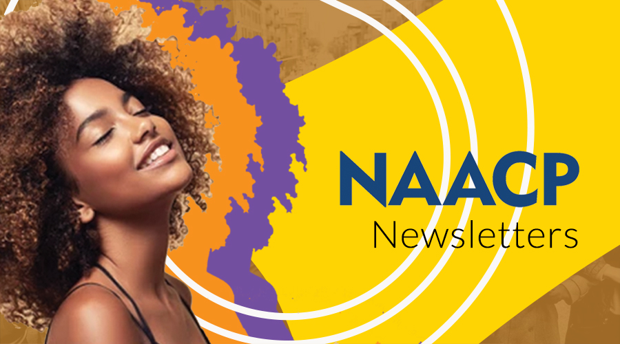 NAACP newsletter banner image