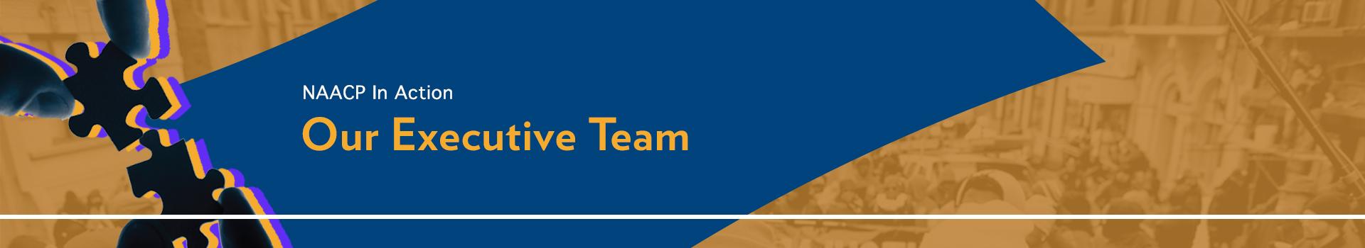 Executive team banner